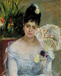 At the Bal, 1875 by Berthe Morisot | Giclée Canvas Print