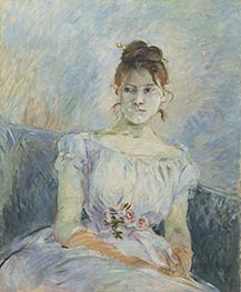 Paule Gobillard in a Ball Gown, 1887 by Berthe Morisot | Giclée Canvas Print