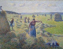 Pissarro | Hay Harvest | Giclée Canvas Print