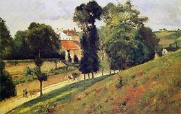 Pissarro | The Saint-Antoine Road at l'Hermitage, Pontoise | Giclée Canvas Print