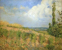 Pissarro | Approach of the Storm | Giclée Canvas Print