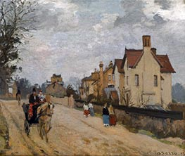 Pissarro | Street in Upper Norwood | Giclée Canvas Print
