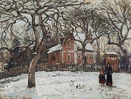 Pissarro | Chestnuts at Louveciennes, 1879 | Giclée Canvas Print