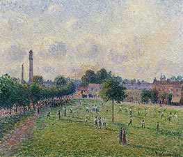 Pissarro | Kew Greens, 1892 | Giclée Canvas Print