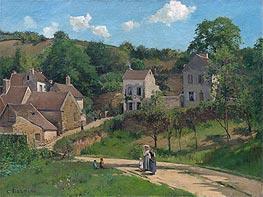Pissarro | The Hermitage at Pontoise, c.1867 | Giclée Canvas Print