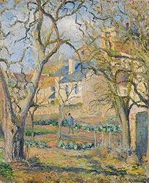 Pissarro | Vegetable Garden, 1878 | Giclée Canvas Print