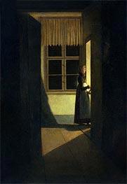 Caspar David Friedrich | The Woman with the Candlestick, 1825 | Giclée Canvas Print