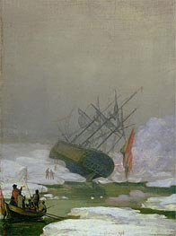 Caspar David Friedrich | Ship in the Polar Sea, 1798 | Giclée Canvas Print