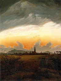 Caspar David Friedrich | Neubrandenburg, c.1817 | Giclée Canvas Print