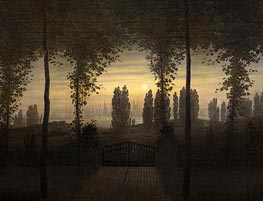 Caspar David Friedrich | Picture in Remembrance of Johann Emanuel Bermer, c.1817 | Giclée Canvas Print