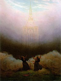 Caspar David Friedrich | Vision of the Christian Church, c.1820 | Giclée Canvas Print