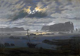Caspar David Friedrich | Northern Sea by Moonlight, undated | Giclée Canvas Print