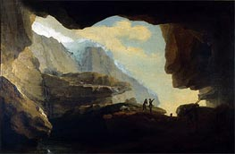 Caspar Wolf | The Crystal Cave, 1778 | Giclée Canvas Print