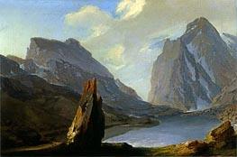 Caspar Wolf | Alpine Landscape, Undated | Giclée Canvas Print