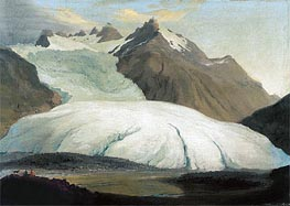 Caspar Wolf | The Rhone Glacier Seen from the Valley at Gletsch, 1778 | Giclée Canvas Print
