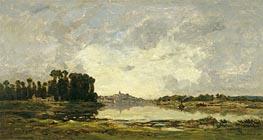 Charles-Francois Daubigny   Conflans, 1874   Giclée Canvas Print