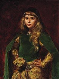 Natalie at Ten, 1887 by Carolus-Duran | Giclée Canvas Print