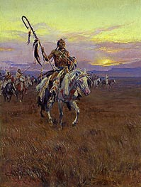Charles Marion Russell | Medicine Man | Giclée Canvas Print