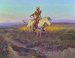 Charles Marion Russell | The Scout, 1915 | Giclée Canvas Print