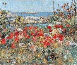 Hassam | Celia Thaxter's Garden, Isles of Shoals, Maine | Giclée Canvas Print
