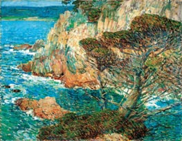 Hassam | Point Lobos, Carmel | Giclée Canvas Print