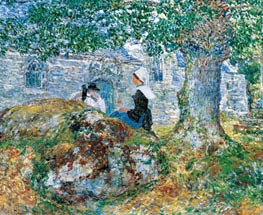 Hassam | In Brittany | Giclée Canvas Print