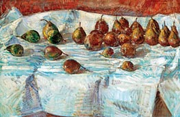 Hassam | Winter Sickle Pears | Giclée Canvas Print