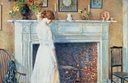 Hassam | In the Old House | Giclée Canvas Print