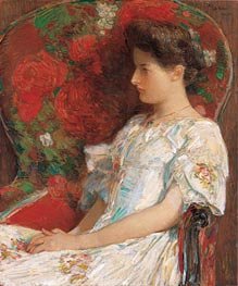 Hassam | The Victorian Chair | Giclée Canvas Print