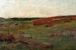 Hassam | Sunrise, Autumn | Giclée Canvas Print