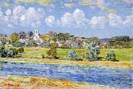 Hassam | Landscape at Newfields, New Hampshire | Giclée Canvas Print