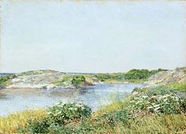 Hassam | The Little Pond, Appledore | Giclée Canvas Print