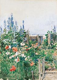 Home of the Hummingbird, 1893 by Hassam | Giclée Paper Print
