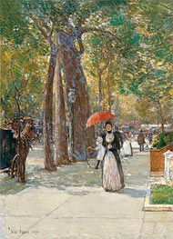 Hassam | Fifth Avenue at Washington Square, New York, 1891 | Giclée Canvas Print