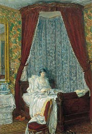 Hassam | The French Breakfast, 1910 | Giclée Canvas Print