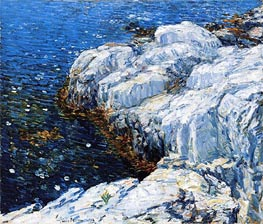 Hassam | Jelly Fish, 1912 | Giclée Canvas Print