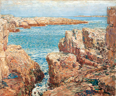 Hassam | Coast Scene, Isles of Shoals, 1901 | Giclée Canvas Print