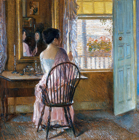 Morning Light, 1914 | Hassam | Painting Reproduction