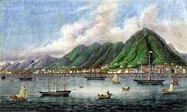 Chinese School | Victoria Island, Hong Kong, c.1865 | Giclée Canvas Print