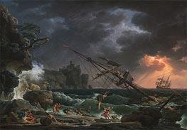 Claude-Joseph Vernet | The Shipwreck, 1772 | Giclée Canvas Print