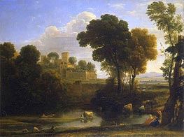 Claude Lorrain | Italian Landscape, 1648 | Giclée Canvas Print