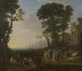 Coast Scene with Europa and the Bull, 1634 by Claude Lorrain | Giclée Canvas Print