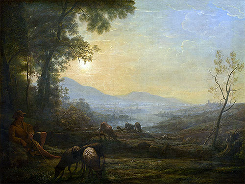 The Herdsman, undated | Claude Lorrain | Painting Reproduction
