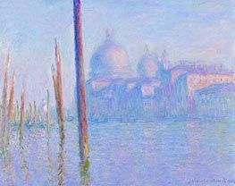 Monet | The Grand Canal, Venice | Giclée Canvas Print
