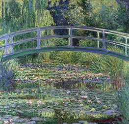 Monet | Water Lily Pond, (Symphony in Green) | Giclée Canvas Print