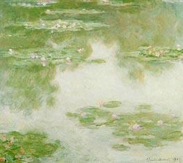 Monet | Water Lilies, Water Landscape | Giclée Canvas Print
