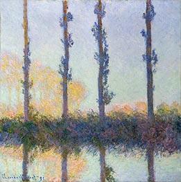 Monet | The Four Trees, Poplars | Giclée Canvas Print