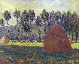 Monet | Haystacks at Giverny | Giclée Canvas Print