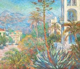 Monet | Villas at Bordighera | Giclée Canvas Print