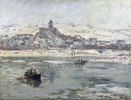 Monet | Vetheuil in Winter | Giclée Canvas Print